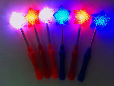 LED Magic Star Wand Flashing Lights up Glow Sticks Party Concert Xmas Halloween
