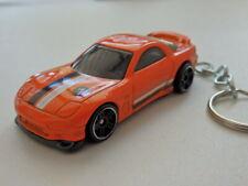 Hot Wheels 1995 Mazda RX-7 Classic Keyfob Keychain Keyring