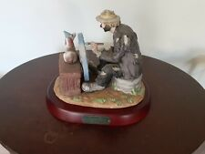 "Flambro Emmett Kelly Jr. ""The Finishing Touch"" Clown Figurine"