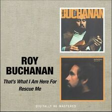 Roy Buchanan - That's What I Am Here for / Rescue Me [New CD] Rmst