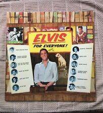Elvis Presley LSP-3450 Elvis For Everyone LP Rigid Orange NM RARE