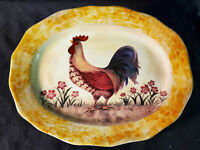 """*Collectible* Decorative Rooster Plate - 13"""""""