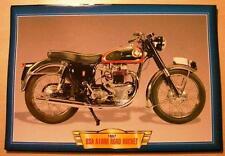 BSA A10RR camino cohete A10 RR Classic Vintage Moto Bicicleta década de 1950 imagen 1957