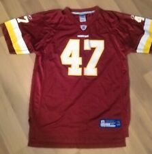 Washington Redskins Chris Cooley #47 Jersey NFL Reebok Players Inc Youth Sz XL