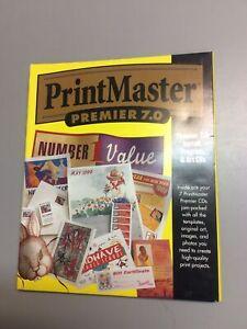 PrintMaster Premier Plus 7.0 - Graphics Desktop Publishing Software A1