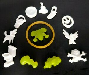 OPERATION SILLY SKILL GAME 2008 Complete Replacement Set of 13 Funatomy Parts