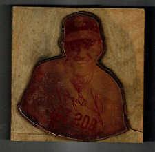 1946 Boston Red Sox' Jim Bagby Jr., J.D. McCarthy Original Copper Printing Plate