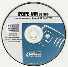 ASUS P5PE-VM Motherboard Drivers Install  M817