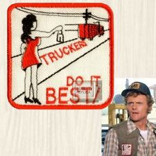 Smokey and the Bandit Truckers Do It Best Patch Bo Darville Snowman Embroidered