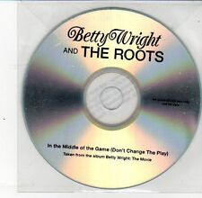(DS629) Betty Wright & The Roots, In The Middle of the Game - 2012 DJ CD