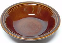 "VINTAGE 1967 FIESTA SHEFFIELD AMBERSTONE BROWN 5"" FRUIT SAUCE BOWL FIESTAWARE"