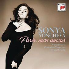 SONYA YONCHEVA- PARIS,MON AMOUR  CD NEU GOUNOD/MASSENET/OFFENBACH/PUCCINI/VERDI