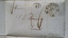 France 1841 Entire with content Saint-Étienne Loriol Postal History