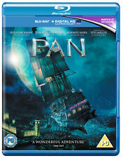 Pan [2015] [Region Free] (Blu-ray)