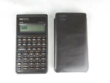 Vintage Hewlett Packard HP 10B Business Calculator Soft Case