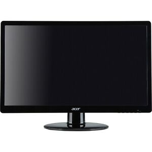 Acer S200HQL 19.5-Inch Screen LED-Lit Monitor 1080p - Black (Open Box)