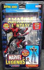 Marvel Legends Sentinel 1st Apariencia Spider-man Capitán América/Vengadores! nuevo!