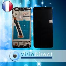 """Ecran complet pour Huawei P Smart noir 5.65"""" vitre tactile + LCD sur chassis"""