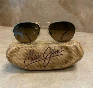 Maui Jim Baby Beach FC: Gold MJ245-16 Unisex Sunglasses 56/18 120 RX-Able