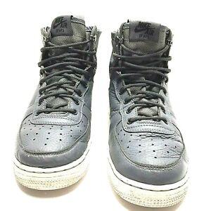 Nike SF Air Force AF 1 Mid Gs Youth Basketball Shoes Grey AJ0424-002 Size 6.5Y