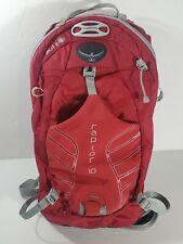 Osprey Packs Raptor 10 Mens Bike Hydration Hiking Backpack M/L Red - No Bladder
