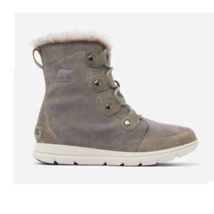 Sorel Explorer Joan Black Quarry Boots
