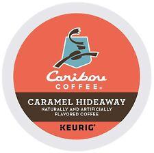Caribou Caramel Hideaway  K-cup  Flavored Coffee, 96 Count read description