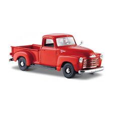 Maisto 31952 CHEVROLET 3100 Pick-Up Rosso 1950 SCALA 1:24 MODELLINO AUTO NUOVO!