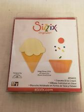 Sizzix Originals Cupcake & Ice Cream Scrapbooking - NN