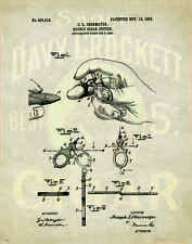 Cigar Patent Poster Art Print Humidor Box Shops Cuban Lighter Ashtray PAT90