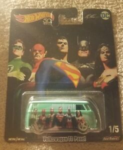 Hot Wheels 2018 Designed by Alex Ross 1/5 DC JUSTICE LEAGUE VOLKSWAGEN
