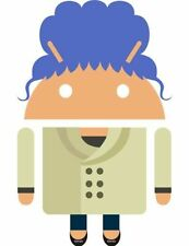 SEALED RARE Google Android BLUE HAIRED GRANDMA Collector Pin CES 2015 Exclusive