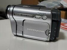 New listing Sony Handycam Dcr-Trv280 Digital 8 Hi-8 Video Transfer Camcorder
