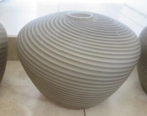 1 Gray and White Swirl VETRI VENINI  Lamp Shade Art Murano Glass Pendant Light
