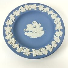 Wedgwood Trinket Pin Dish Aurora Driving a Chariot Made in England 3-D Relief