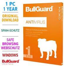 Bullguard ANTIVIRUS 1 PC 1 Jahr 2019