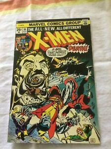 X-Men 94 Marvel Count Nefaria    RAW COMIC
