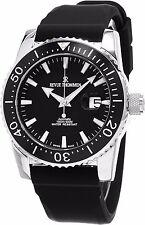 Revue Thommen Men's Diver Black Rubber Strap Swiss Automatic Watch 17030.2537