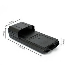UV-5R or plus 6XAA Extended two way radio Battery Case Shell for Baofeng