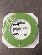 3M 26344 1/4'' x 60 yard Scotch Automotive Performance Tape 233+ Green (2 Rolls)