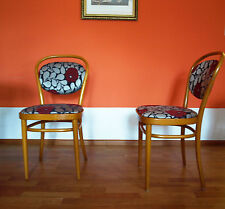 6er Set Thonet 215 P Wiener Werkstätte Stuhl Stühle, Josef Hoffmann