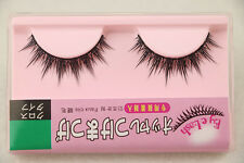 Fashion Makeup Natural Soft Long Thick False Eyelashes Black Eye Lashes M08 New