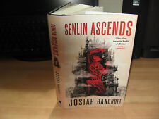 Josiah Bancroft Senlin Ascends Signed Numbered 1st debut fantasy Books of Babel
