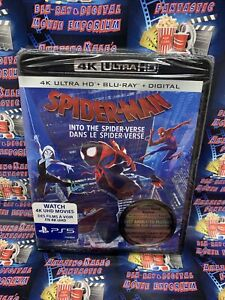 Spider-Man Into The Spiderverse 4K Ultra HD + Blu-Ray Bilingual NO DC LOOK