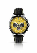 Sekonda Yellow Chronograph Dial Gents Watch 3378