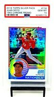 2018 Topps Chrome RC REFRACTOR JUAN SOTO Rookie Baseball Card PSA 10 GEM MINT