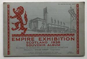 Cig Cards - Empire Exhibition, Scotland 1938 (Stephen Mitchell) - Full Set