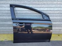 FORD MONDEO MK4 2008 HATCHBACK DRIVER O/S FRONT RIGHT DOOR IN BLACK : G6