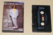 ERIC CLAPTON - BAD LOVE - 2 Track Cassette Single - RARE - 1989