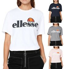 ellesse Ladies Albany T-Shirt Casual Sporty Gym Run Top Women's Tee